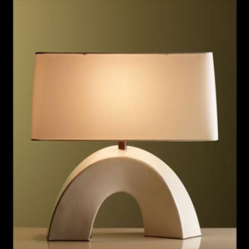 Cream Lacquer Arch Lamp