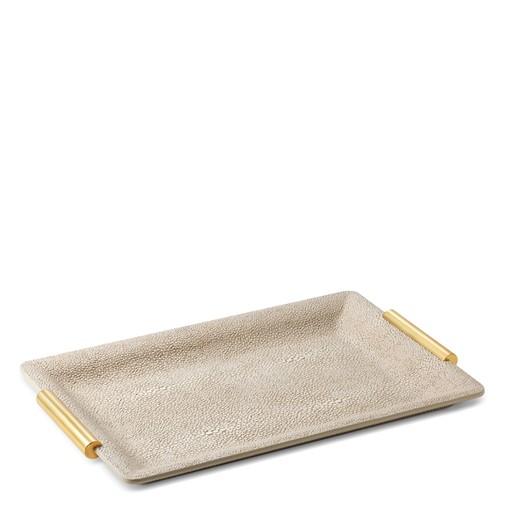Shagreen Small Vanity Tray (Wheat)