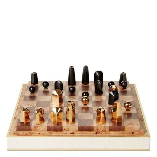 Shagreen Chess Set (Cream)