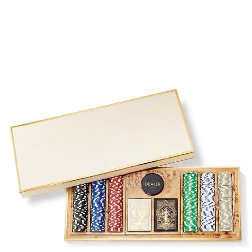 Shagreen Poker Set (Cream)