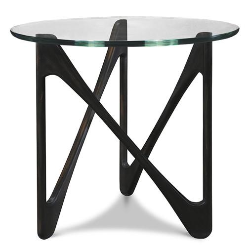 Assen Lamp Table (Glass Top)