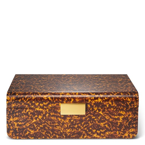 Modern Large Jewelry Box (Tortoise)