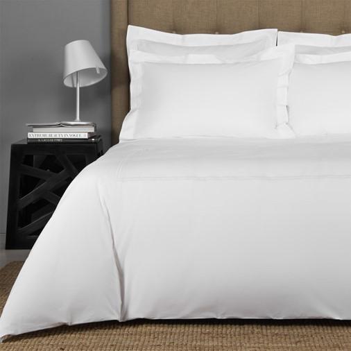 Hotel Classic Duvet Cover (White/White)
