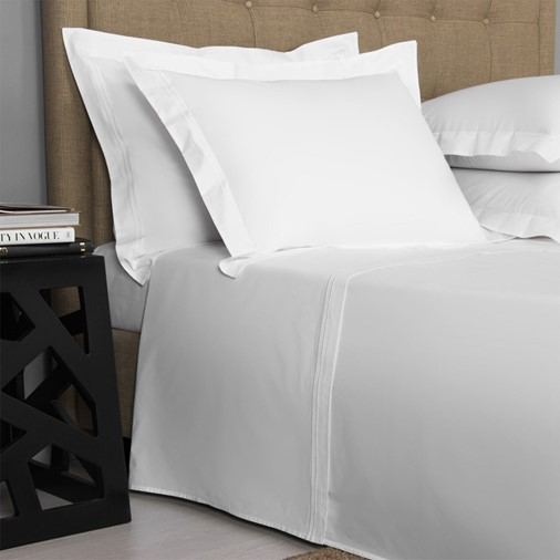 Hotel Classic Sheet Set - King (White/White)