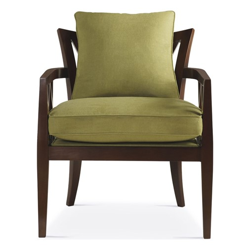 Double X-Back Chair