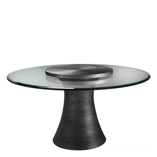 Katoucha Dining Table with Lazy Susan