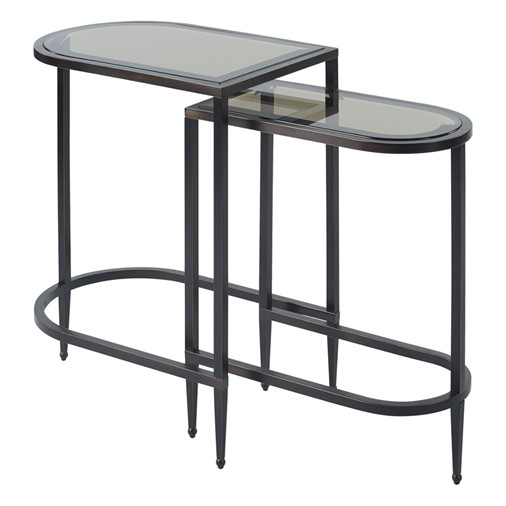 Iron Eye Nesting Accent Tables