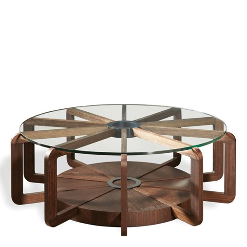 Radii Coffee Table Base (Without Glass)
