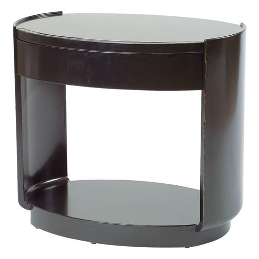 Oval Bedside / End Table