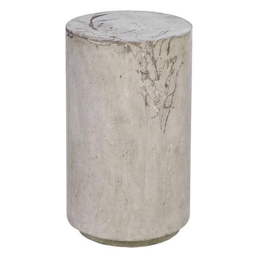 Tall Round Concrete Stool