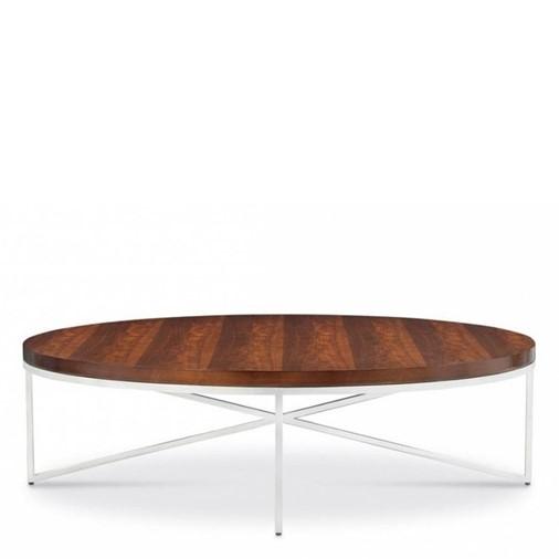 Domicile Cocktail Table Wood Top