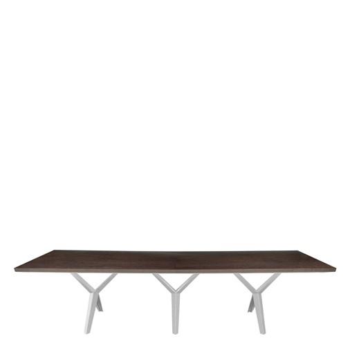 Modern Metropolis Triple V Dining Table