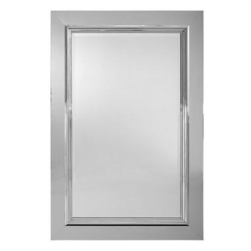 Duke Polished Steel Mirror