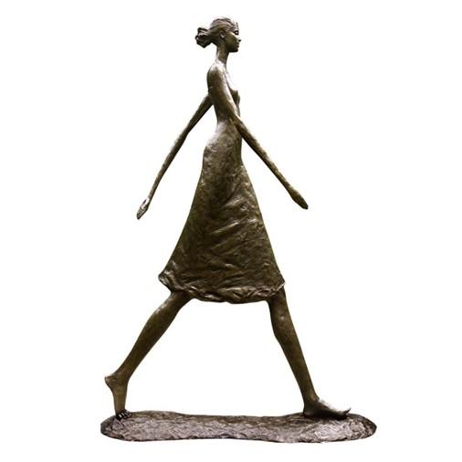 Woman Walking Tall