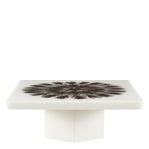 Peacock Square Cocktail Table