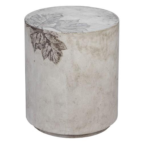 Medium Outdoor Round Concrete Stool